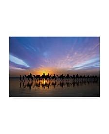 "Renee Doyle 'Sunset Ride' Canvas Art - 19"" x 2"" x 12"""