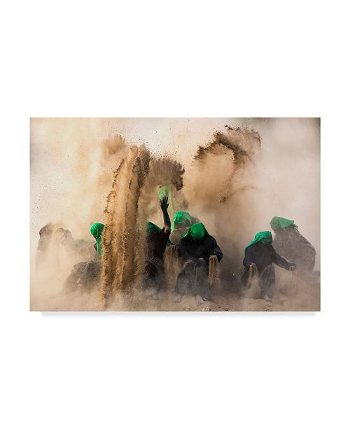 "Trademark Global Mohammadreza Momeni 'Resurrection' Canvas Art - 19"" x 2"" x 12"""