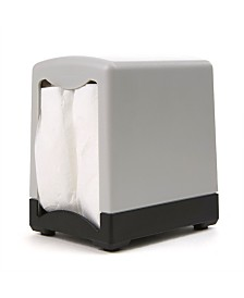 "Mind Reader 2 Pack 7"" Interfold Table Top Napkin Dispenser"