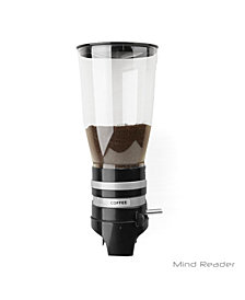 Mind Reader Metal Single Wall Mounted Coffee and Sugar Dispenser