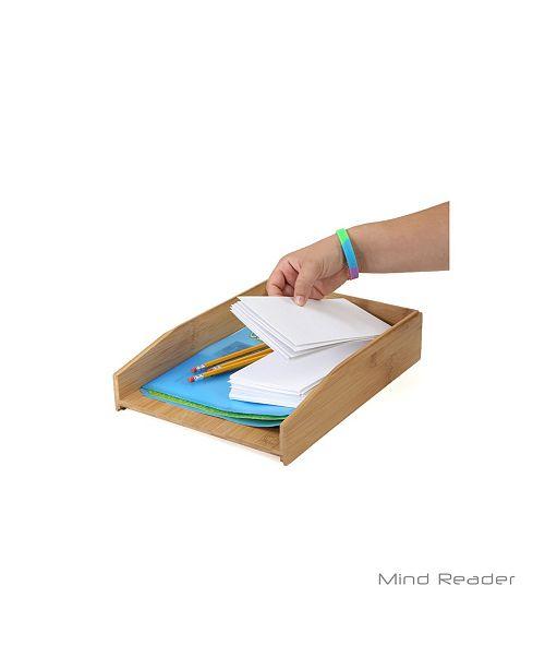 Mind Reader Tray Desk Organizer