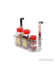 Mind Reader Acrylic All Purpose Storage Shelf with Hook