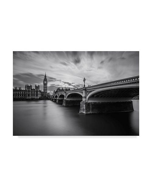 "Trademark Global Nader El Assy 'Westminster Serenity' Canvas Art - 47"" x 2"" x 30"""