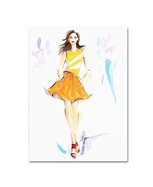 "Trademark Global Jennifer Lilya 'Starburst' Canvas Art - 18"" x 24"" x 2"""