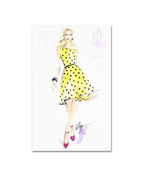 "Trademark Global Jennifer Lilya 'Sunny Day Dreaming' Canvas Art - 22"" x 32"" x 2"""