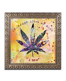 """Potman 'Colorado State of Mind' Ornate Framed Art - 16"""" x 16"""" x 0.5"""""""