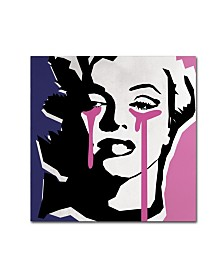 "Mark Ashkenazi 'Marilyn Monroe III' Canvas Art - 18"" x 18"" x 2"""