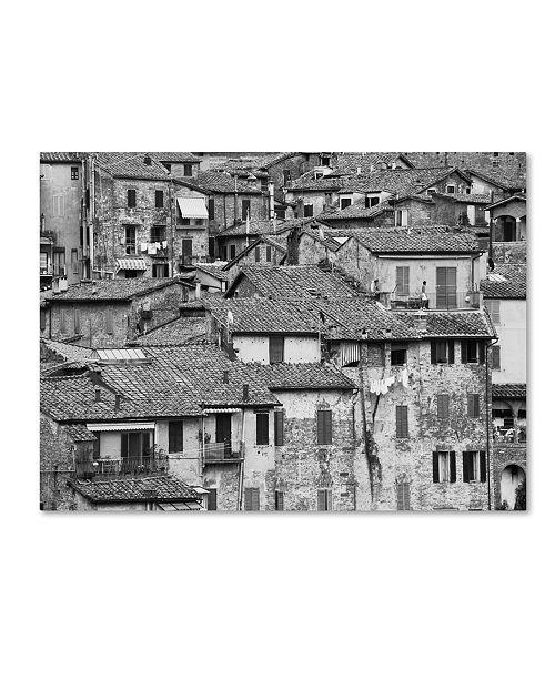 "Trademark Global Moises Levy 'San Gimignano Texture' Canvas Art - 19"" x 14"" x 2"""