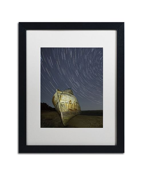 "Trademark Global Moises Levy 'Point Reyes II' Matted Framed Art - 16"" x 20"" x 0.5"""