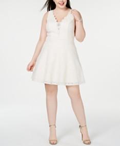 White Plus Size Dresses - Macy\'s