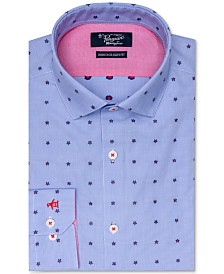 Original Penguin Slim Fit Comfort Stretch Novelty Print Dress Shirt