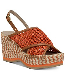 Donald Pliner Lotti Wedge Sandals