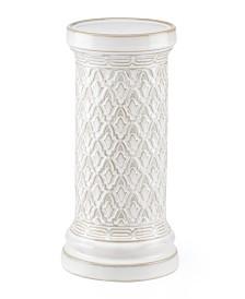 Lenox Global Tapestry Pillar Candle Holder White