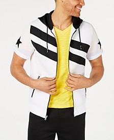 INC Men's Zip-Front Stripe Hoodie, Created for Macy's