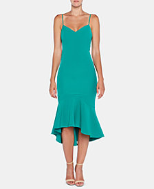 Bardot High-Low Flounce Dress