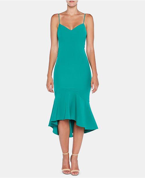 Bardot High-Low Flounce Dress