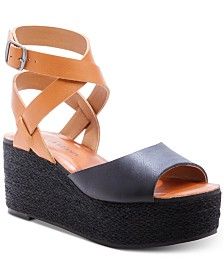 Lucky Brand Women's Ginny Wedge Sandals