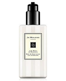 Jo Malone London Lime Basil & Mandarin Body & Hand Lotion, 8.5-oz.