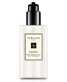 Jo Malone London Lime Basil & Mandarin Body & Hand Lotion, 8.5-oz.