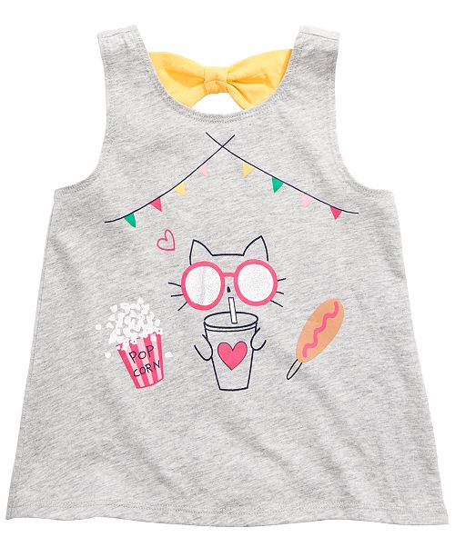 First Impressions Toddler Girls Carnival Graphic Tank Top, Created for Macy's