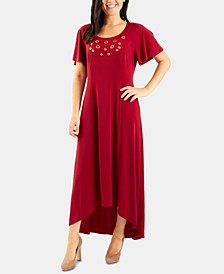 High-Low Grommeted Dress