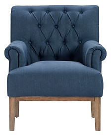Finch Westport Tufted Accent Chair, Quick Ship