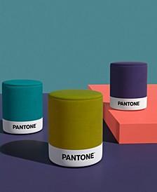 Pantone Floor Pouf, Quick Ship