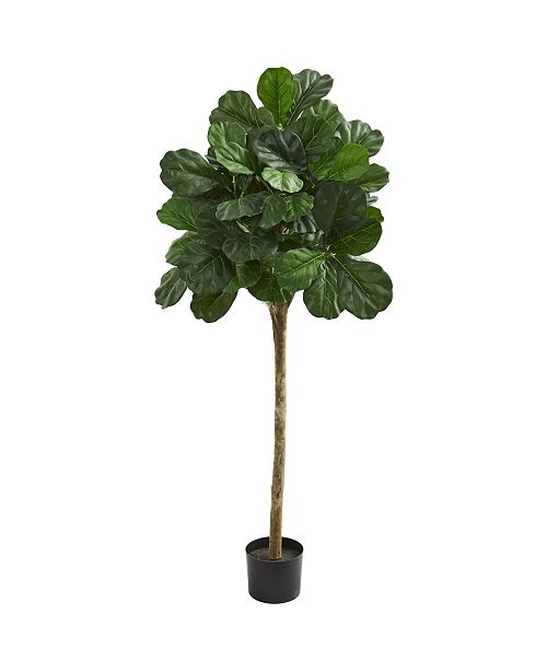 Nearly Natural 5' Fiddle Leaf Fig Artificial Tree
