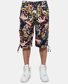 "Sean John Men's Classic Flight Cargo 14"" Shorts, Created for Macy's"