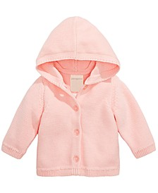 Baby Girl's Hooded Cardigan, Created for Macy's