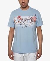 742884e4c9c4 Sean John Men s Lamour Floral Graphic T-Shirt