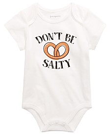 First Impressions Baby Boys or Girls Pretzel Graphic Bodysuit, Created for Macy's