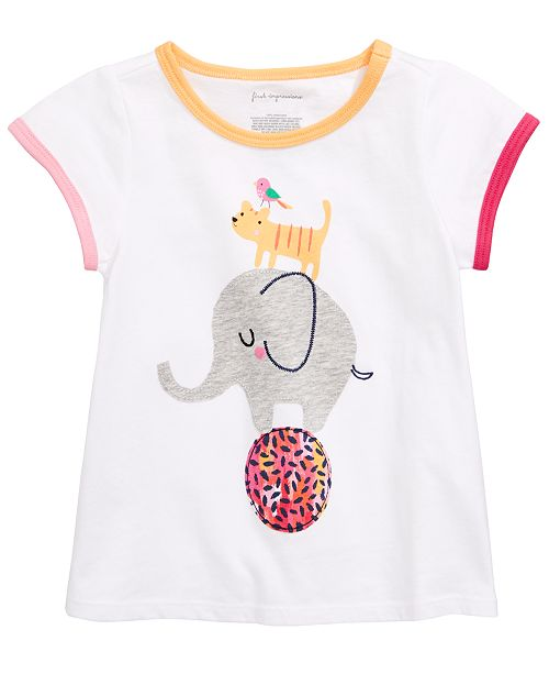 First Impressions Toddler Girls Circus Graphic T-Shirt, Created for Macy's
