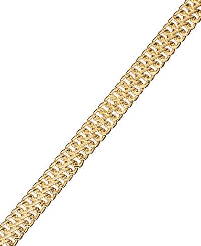 14k Gold Bracelet Mesh Bracelet Bracelets Jewelry