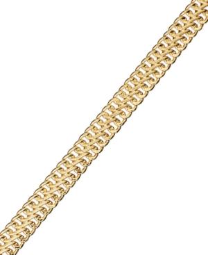 14k Gold Bracelet, Mesh...