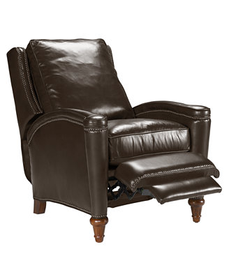Rutherford Leather Recliner Chair Furniture Macy s