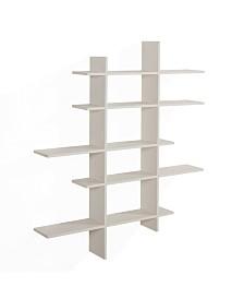Danya B. Five Level Asymmetric Shelf