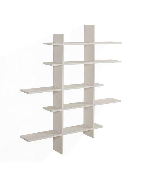 Danya B Five Level Asymmetric Shelf