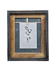 "Rustic 4"" x 6"" Vertical Wood Picture Frame"