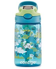 Contigo Autospout Kids Cleanable Tritan 14-Oz. Water Bottle, Dinosaurs