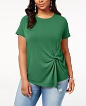 eaa31054f4c Plus Size T Shirts  Shop Plus Size T Shirts - Macy s