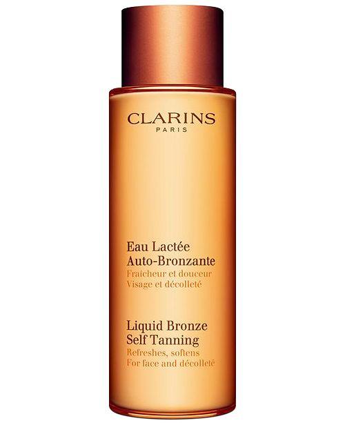 Clarins Liquid Bronze Self Tanning, 4.2 oz