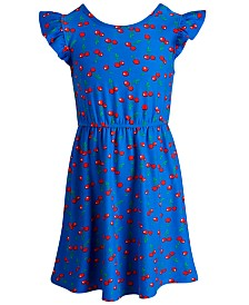 Epic Threads Toddler Girls Cherry-Print Dress, Created for Macy's