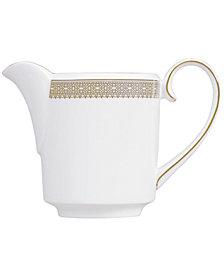 Vera Wang Wedgwood Dinnerware, Lace Gold Creamer