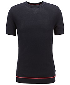 BOSS Men's Forte Short-Sleeved Cotton Sweater