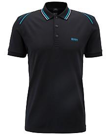 BOSS Men's Paule Slim-Fit Cotton Polo Shirt