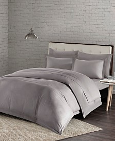 Urban Habitat Comfort Wash King/California King 3 Piece Cotton Duvet Cover Mini Set