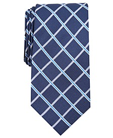 Men's Grid Tie, Created for Macy's