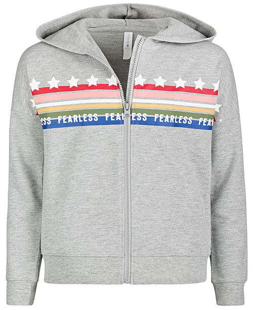 Ideology Big Girls French Terry Hoodie, Created for Macy's