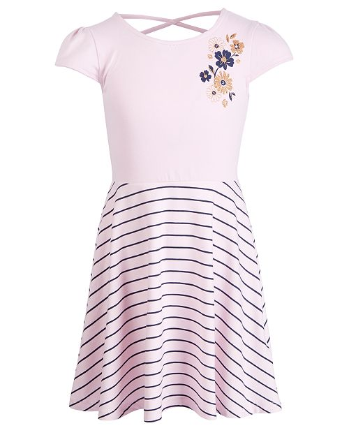 b751b3097649b ... Epic Threads Little Girls Striped Floral-Print Dress, Created for  Macy's ...